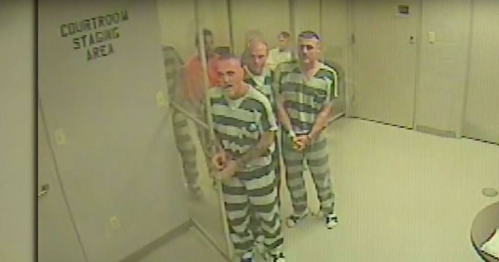 Inmates Break Out Of Jail To Save Fallen Guard