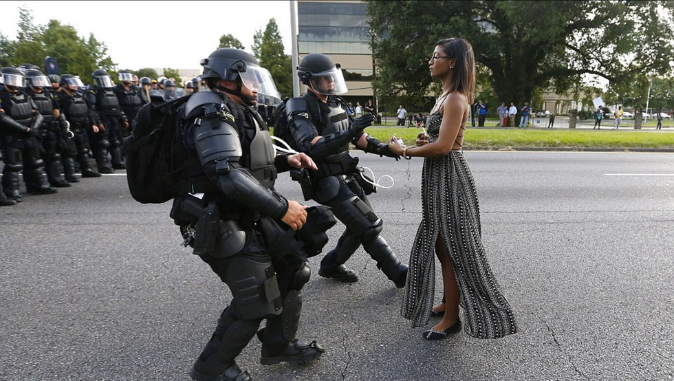 How This Protest Image Became An Instant Icon