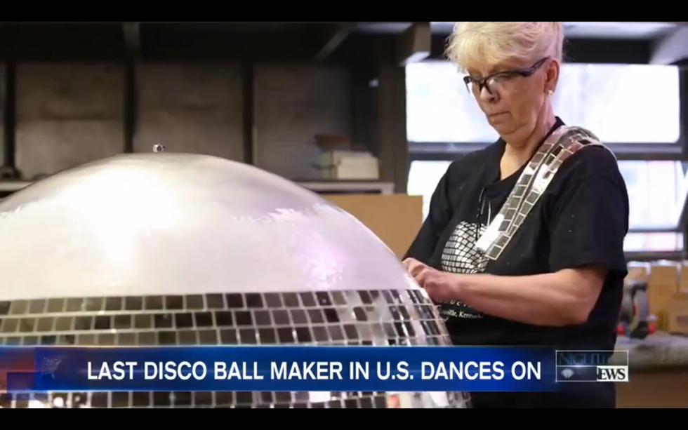 The Long Days And Boogie Nights Of America's Last Disco Ball Maker