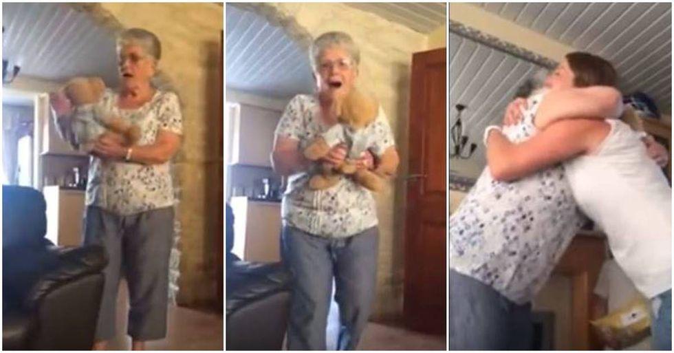 Widow With Dementia Hears Her Late Husband's Voice Through A Teddy Bear