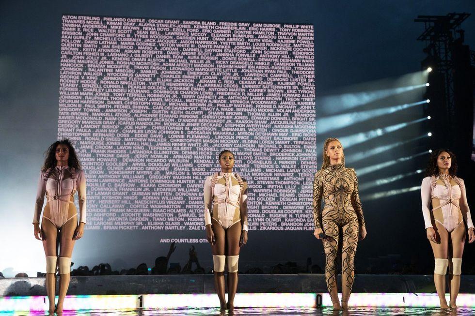 Beyoncé's Moment Of Silence Spoke Volumes