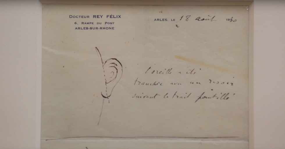 The Mystery Of Vincent Van Gogh's Ear Has Been Solved