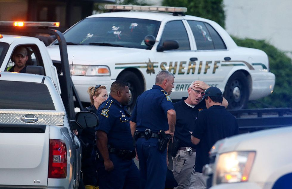Three Baton Rouge Officers Killed By A Lone Gunman