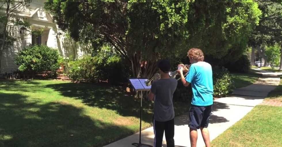 Musicians Pay Tribute To John Williams On The Composer's Lawn