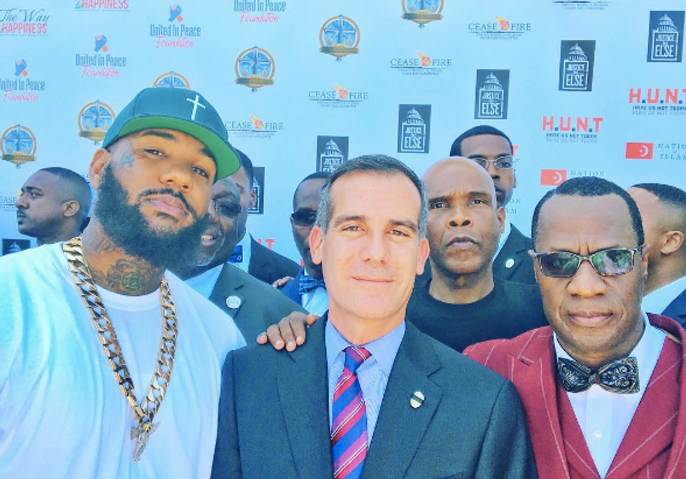 Rappers, Gang Leaders And The LAPD Came Together In An Awesome Show Of Unity