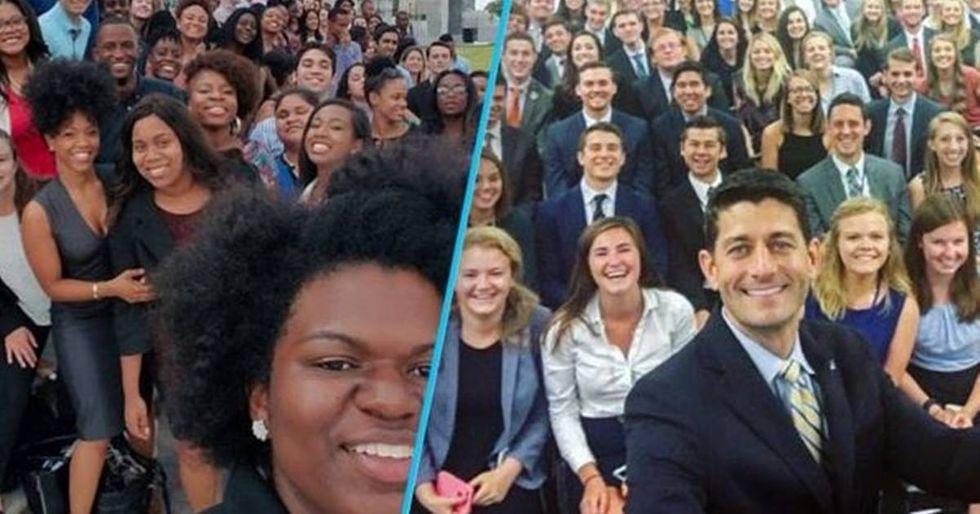 Democratic Intern Photos Reveals The Huge Difference Between Parties