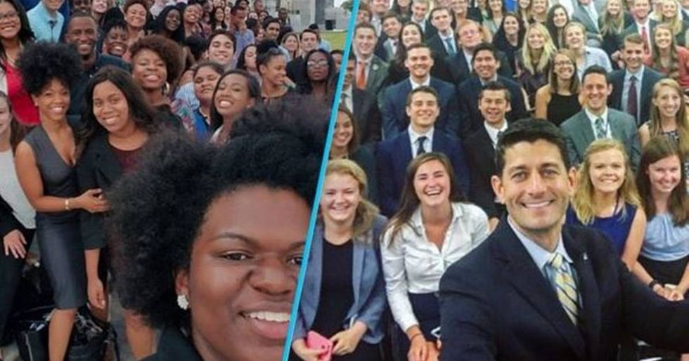 Democratic Intern Photos Reveals The Huge Difference Between Parties