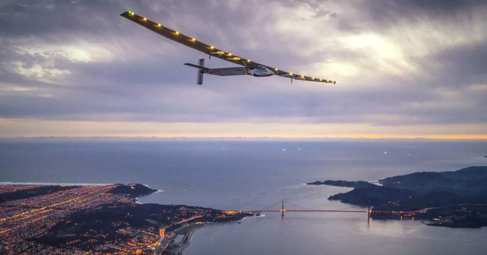 Solar Impulse Completes Final Leg Of Historic, Global Flight