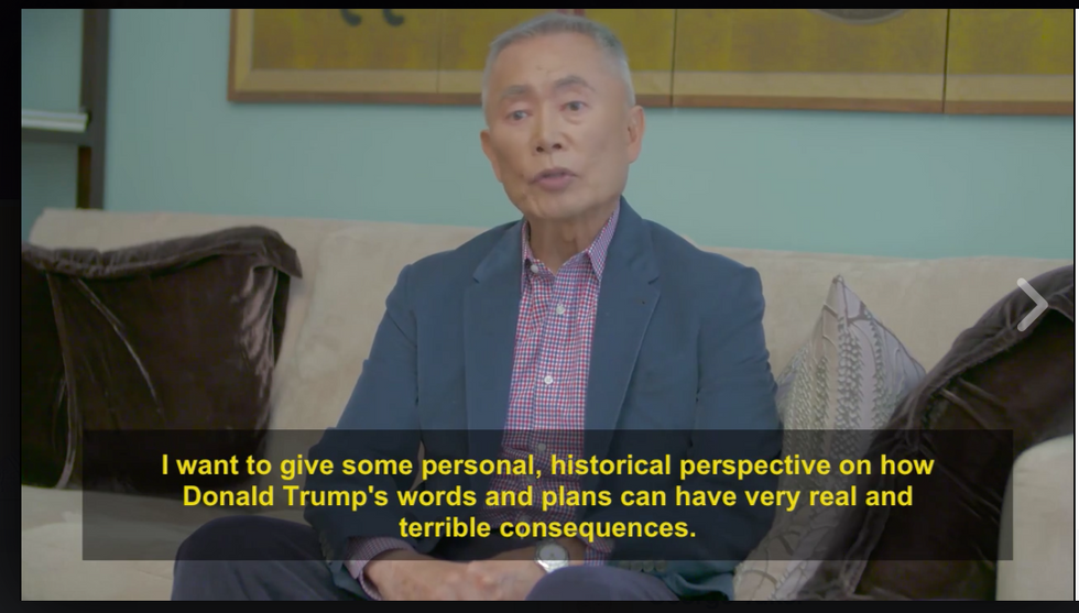 George Takei Offers Some Sobering Advice On Donald Trump