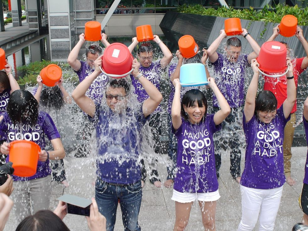 The Ice Bucket Challenge Is Back With Some Seriously Good News