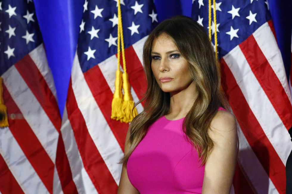 Melania Trump's Website Just Vanished