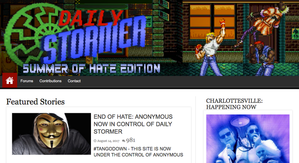 Neo-Nazi Website Finally Booted Off The Internet