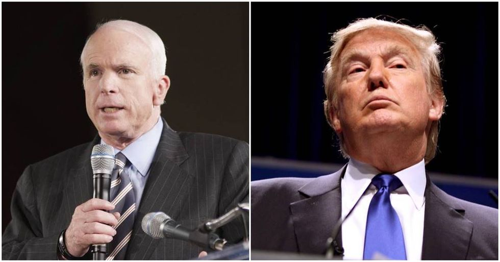 John McCain Slams Donald Trump For His Comments On The Khan Family