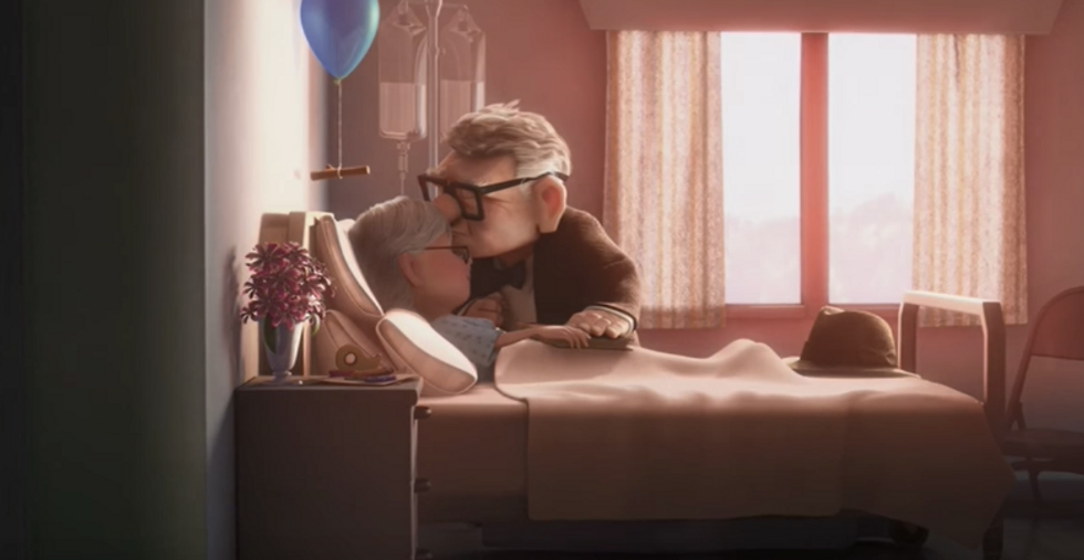 Here's A Scientific Explanation Of HowPixarMovies Make You Cry