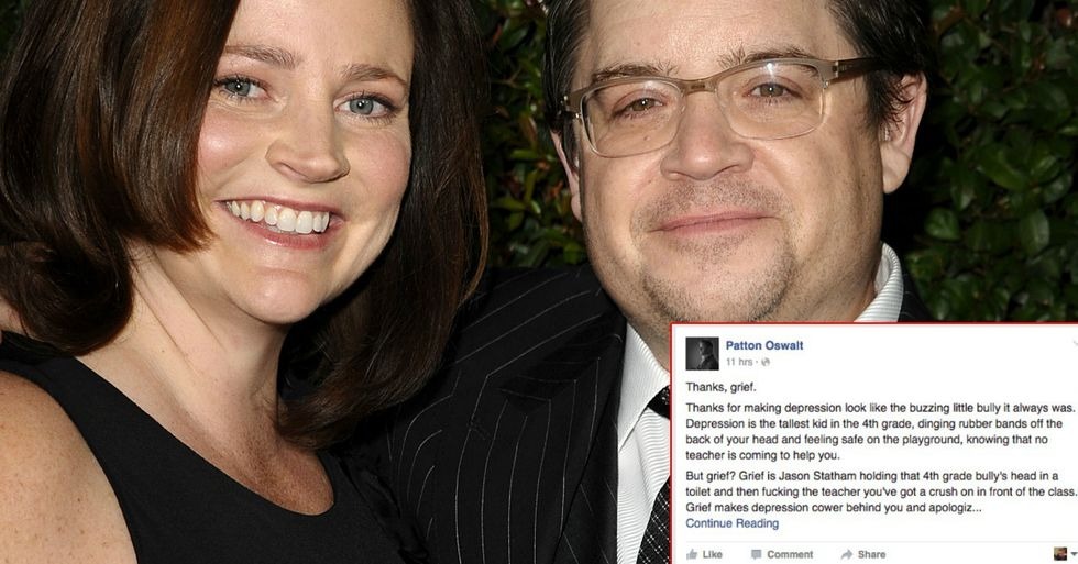 Comedian Patton Oswalt Writes Moving Post About Missing His Late Wife