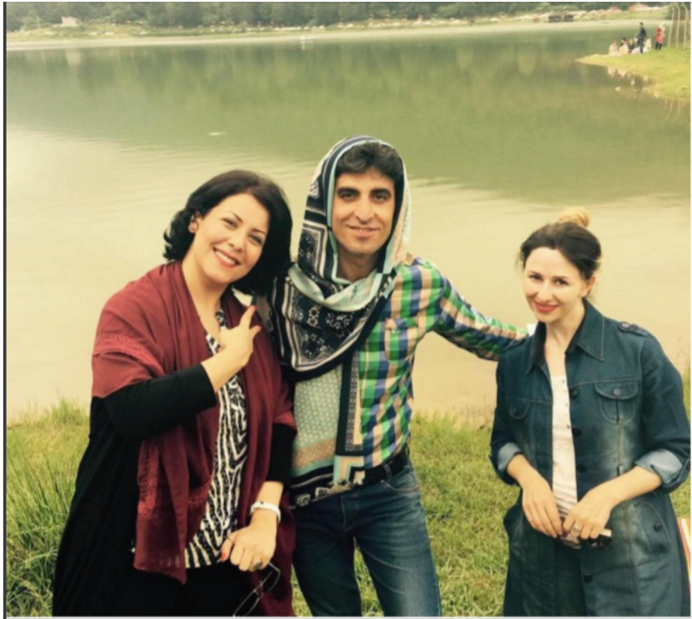 Men In Iran Are Wearing The Hijab To Support Their Wives