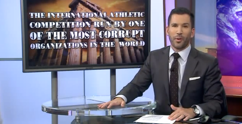 TV Anchor Perfectly Demonstrates How Ridiculous NBC's Olympics Broadcasting Restrictions Are