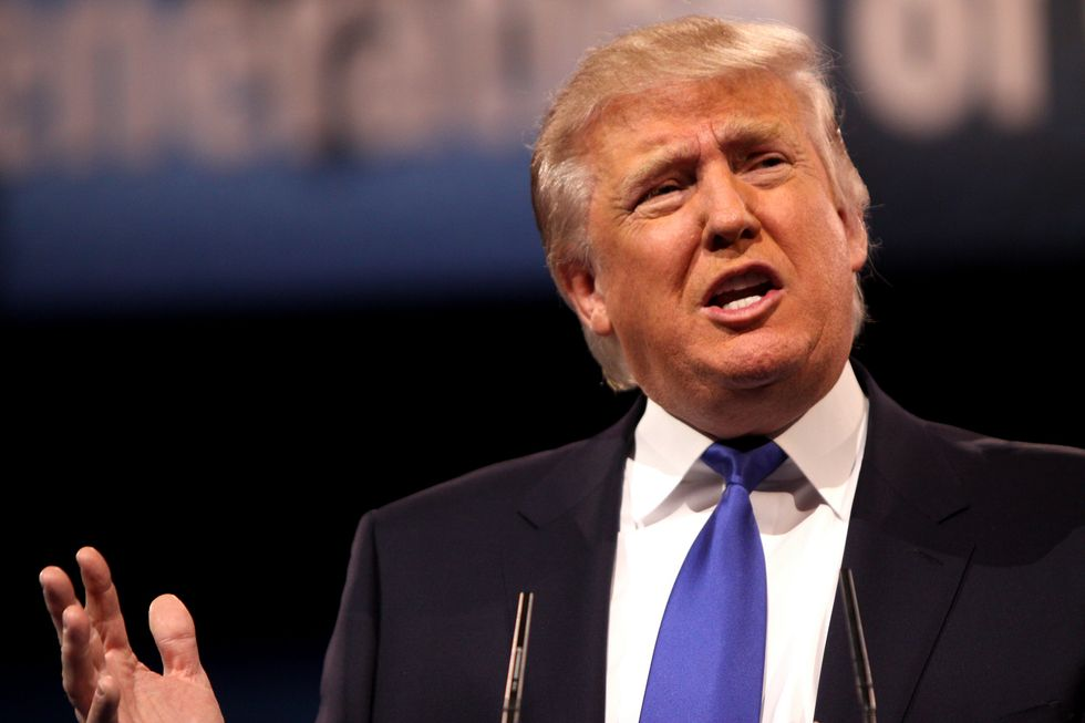 Trump Says He'll Debate Clinton But Only With Certain 'Conditions'