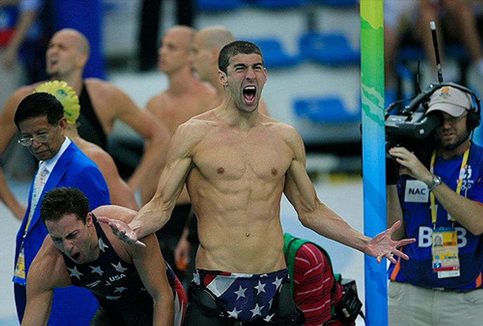 Michael Phelps Just Tied A 2,000-Year-Old Olympic Record