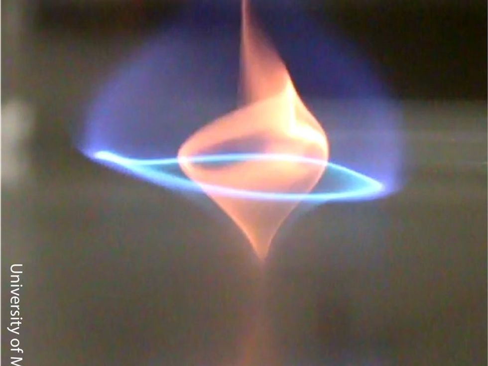Researchers Just Discovered A New Type Of Flame, And It May Help Save The Environment