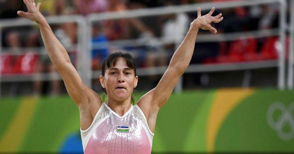 41-Year-Old Gymnast Oksana Chusovitina Is The Oldest Woman To Ever Compete In Olympic Gymnastics
