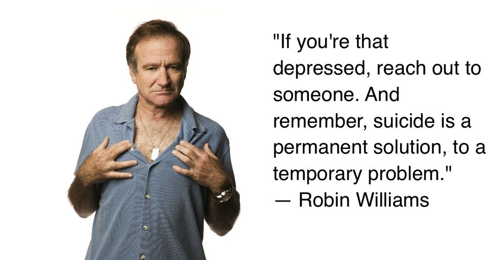 7 Wonderful Quotes About Depression From The Great Robin Williams