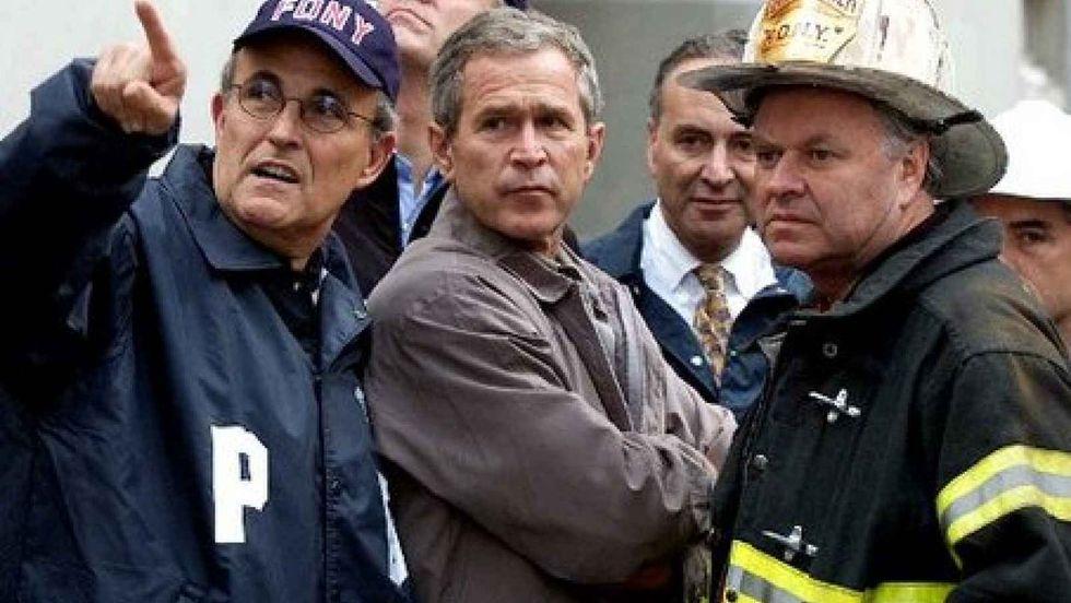 Rudy Giuliani Says 'No Successful Terror Attacks In U.S. Until Obama'