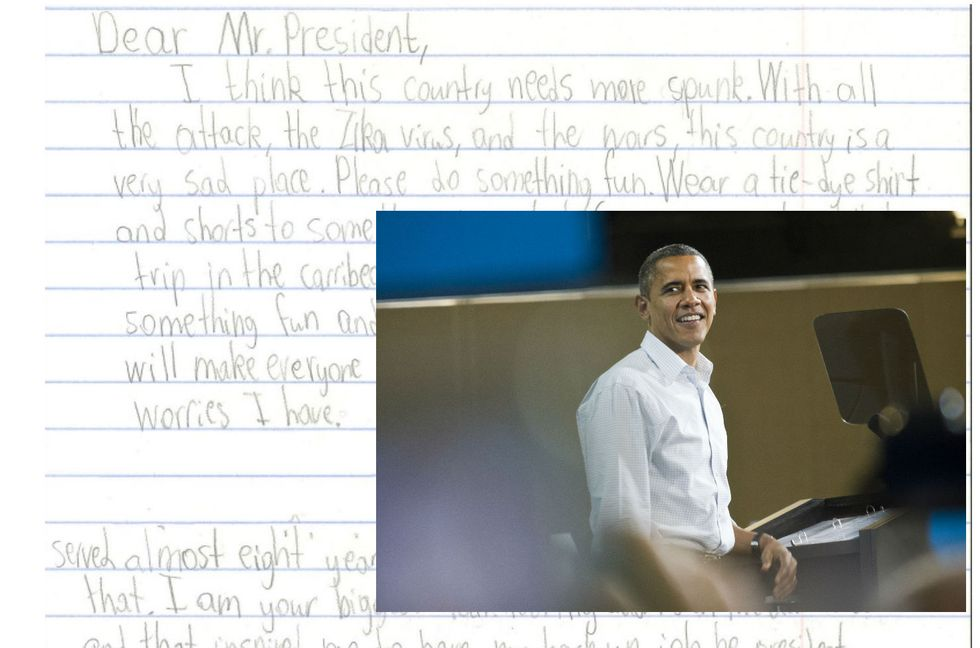 President Obama Had AnAmazing Response To Eight-Year-Old Girl'sLetter