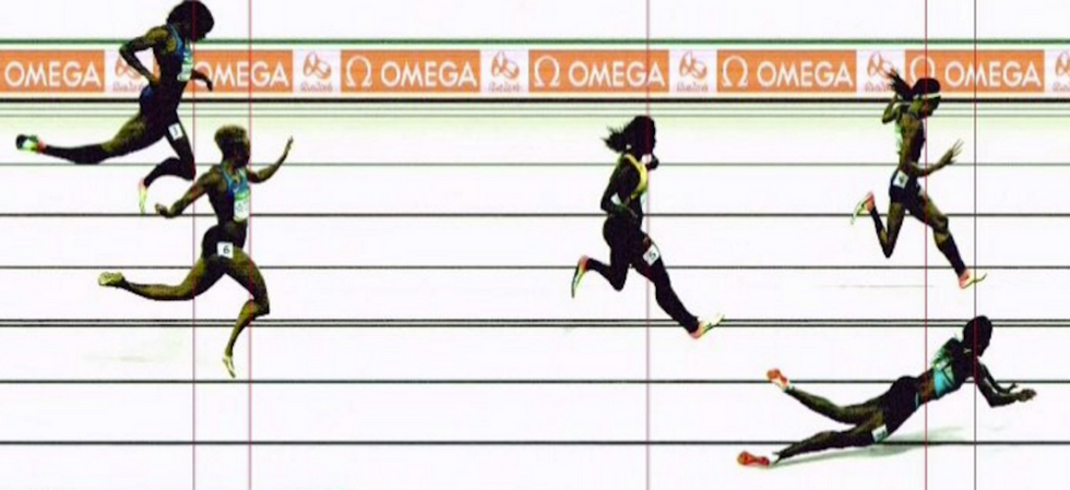 Runner Dives Across The Finish Line To Win Gold And Many Are Not Happy About It