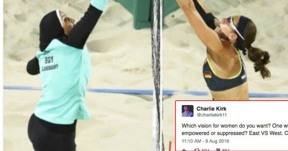Charlie Kirk Totally Misses The Point Of A Beautiful Olympic Photo
