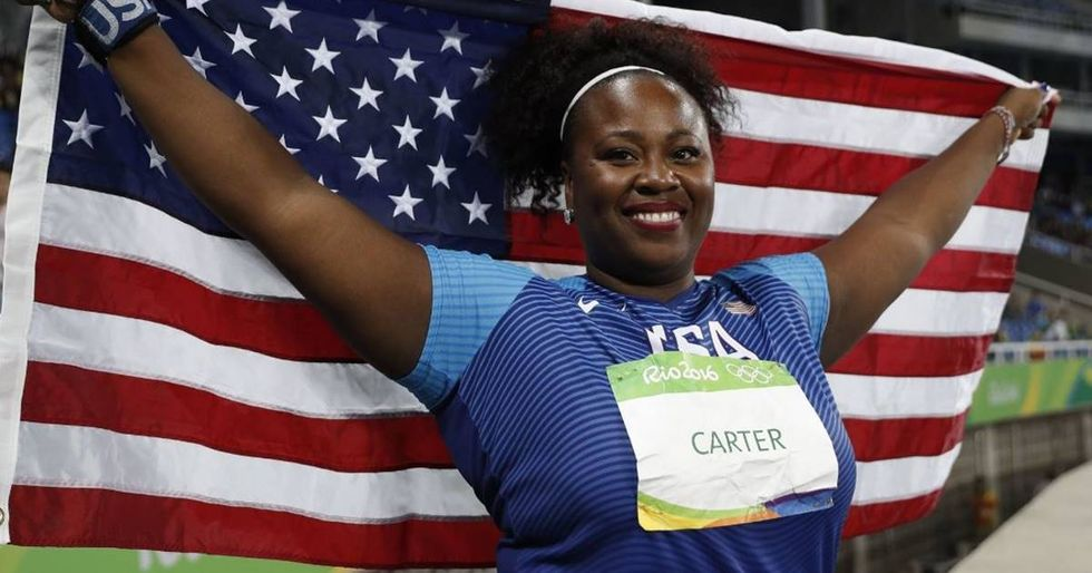 Gold-Medalist Michelle Carter Brings Body Positivity To The Olympics