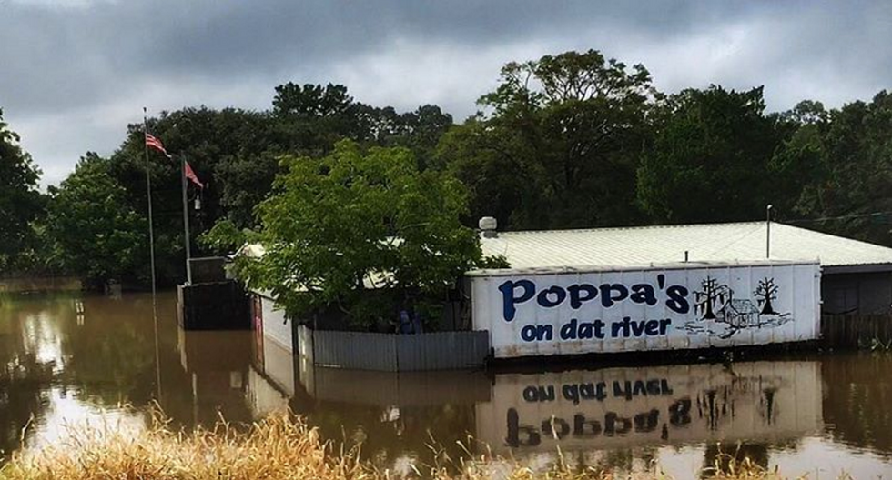 Louisiana Has Seen 6.9 Trillion Gallons Of Rainfall In One Week