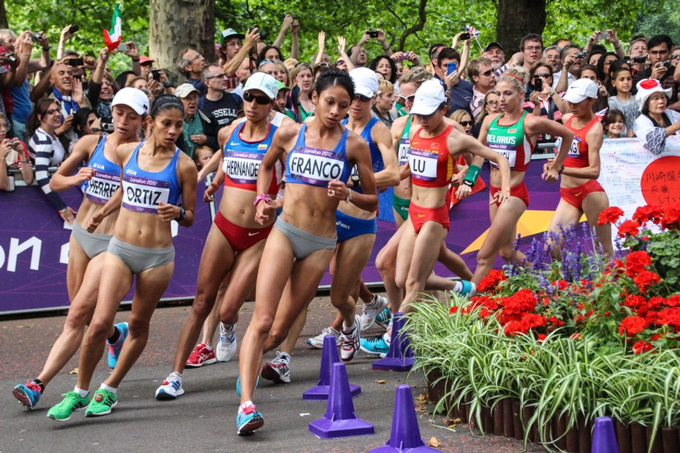 Don't Run (And Don't Laugh): The Little-KnownHistory OfRacewalking
