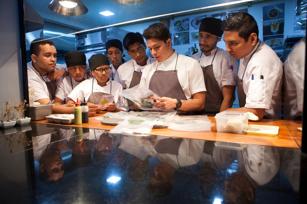 Fighting Hunger In Peru, One Cooking Class At A Time