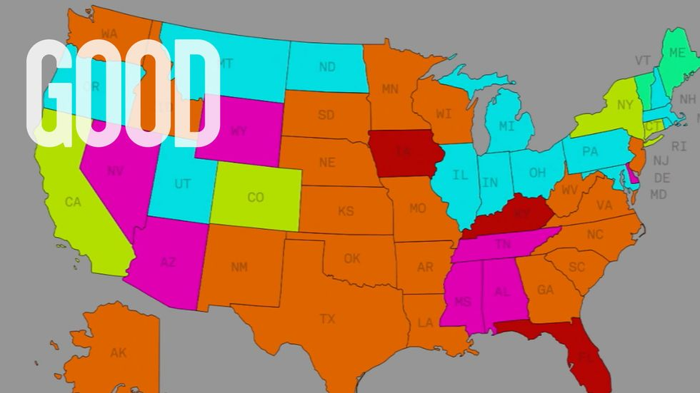 Infographic: How State Laws Keep Millions Of People From Voting