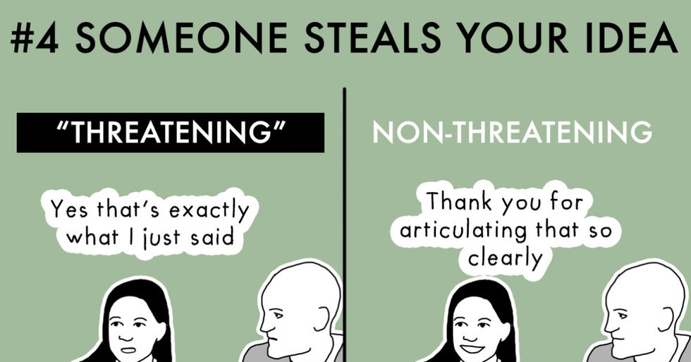 These Cartoons Explain 9 Hilarious 'Nonthreatening' Leadership Strategies For Women
