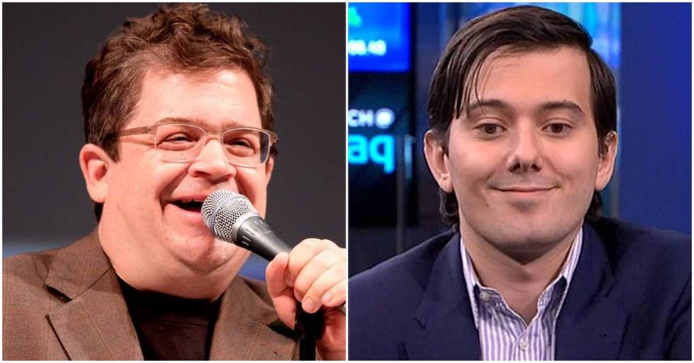 Martin Shkreli Owned By Patton Oswalt On Twitter