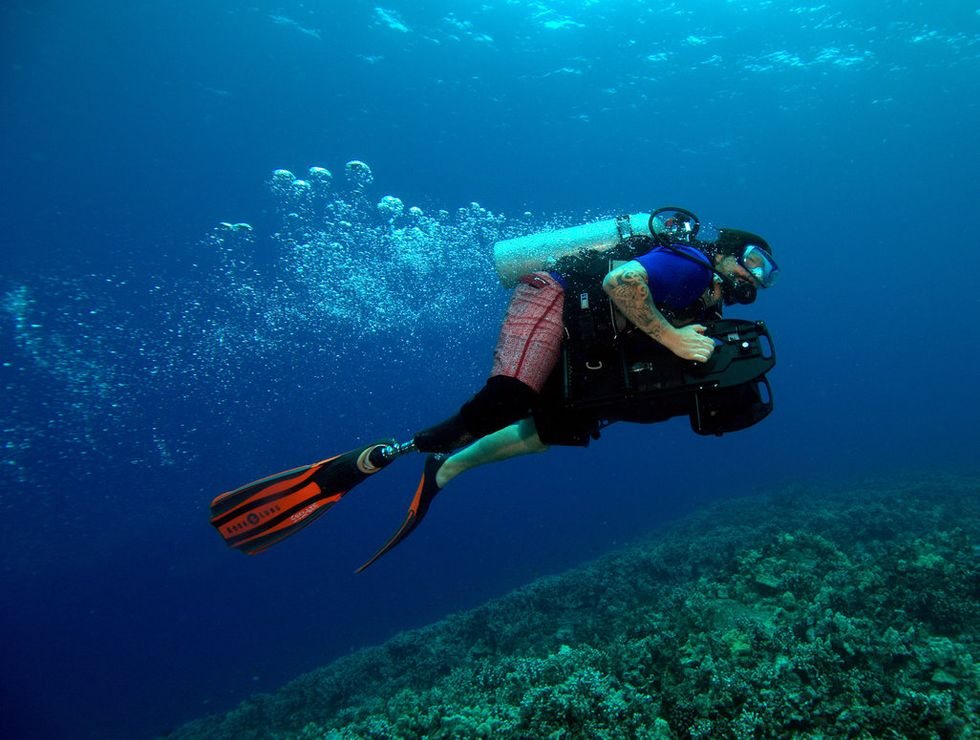 How Scuba Diving Is Being Used To Heal Wounded Veterans