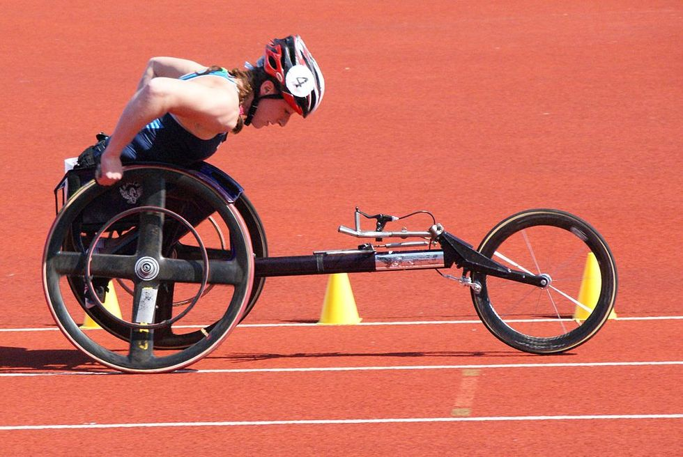 Wheelchair Racing Is Just Way Cooler Than Running