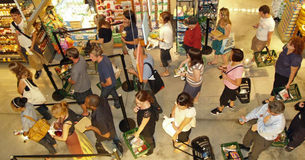 The Scientifically Proven Way To Pick The Fastest Grocery Store Line