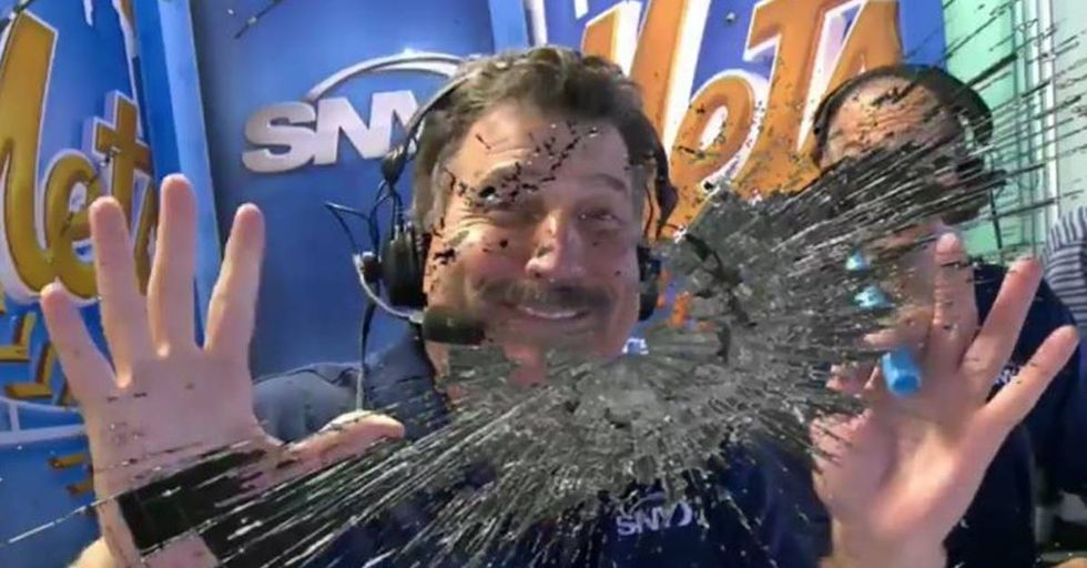 Keith Hernandez 'Shatters' A Camera Lens During Mets Broadcast