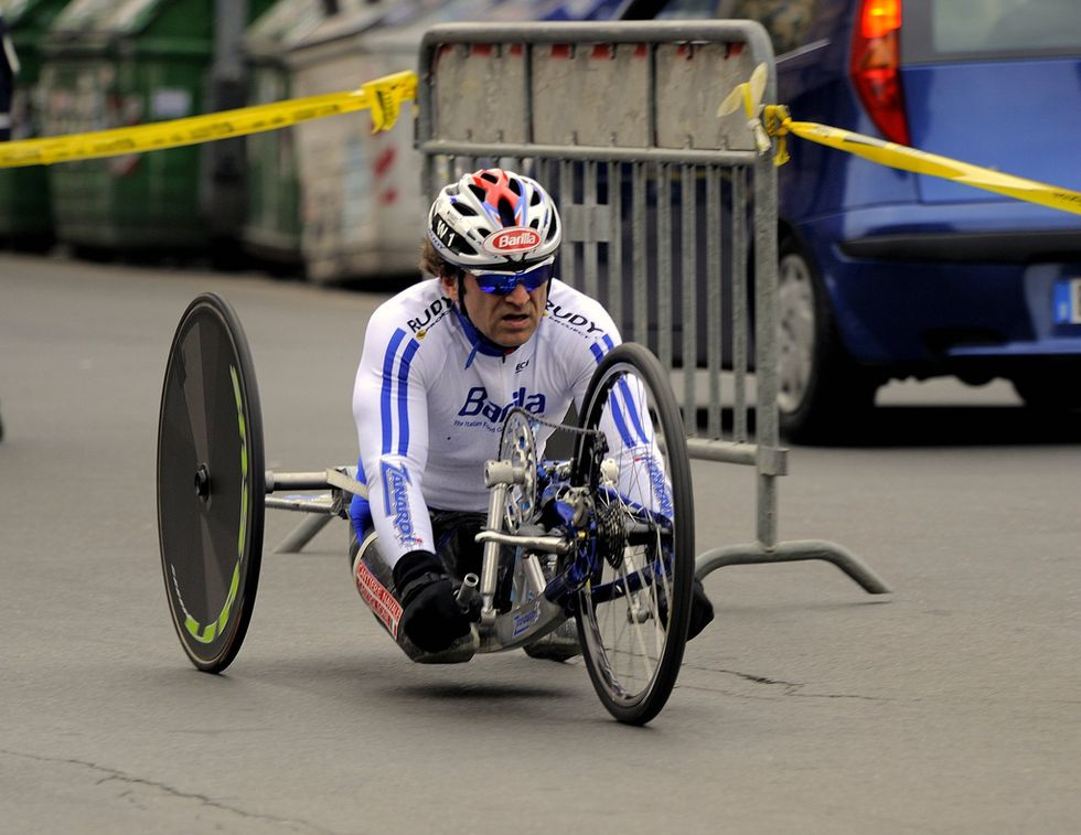 Racing Legend Wins Gold 15 Years After Losing Legs In Crash