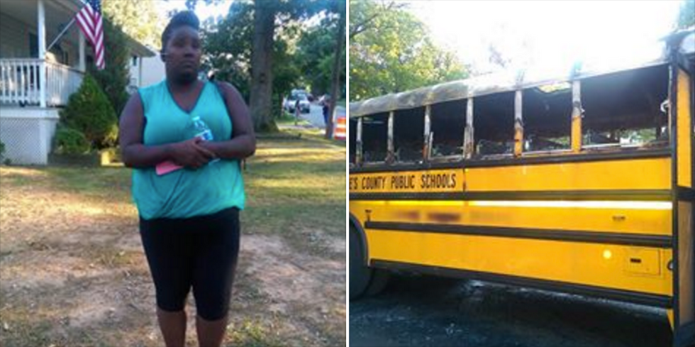 Heroic Bus Driver Saves 20 Children From A Burning School Bus