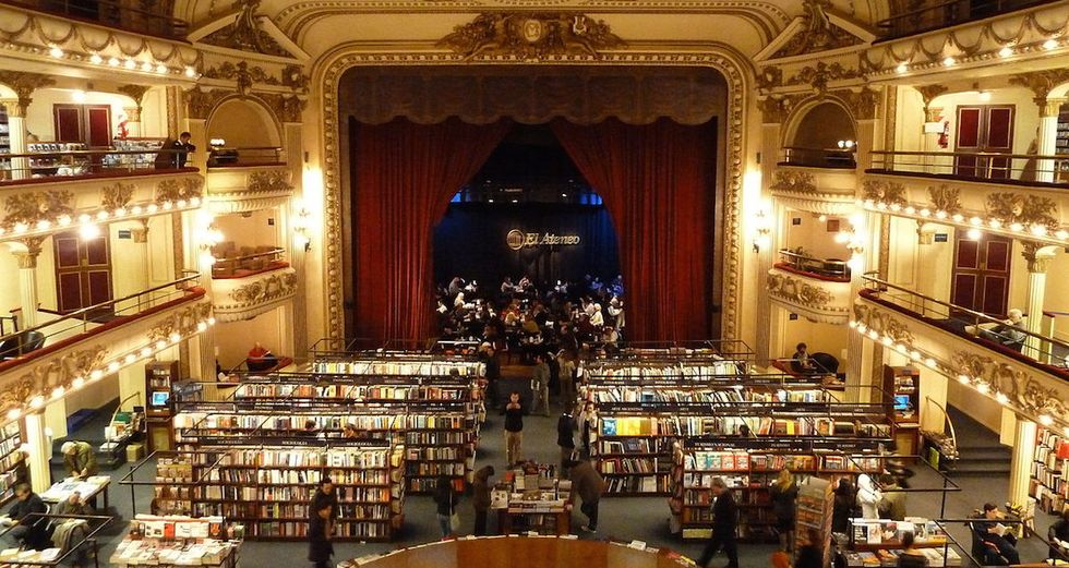 100-Year-Old Theater Turned Bookstore Is Every Bibliophile's Dream Come True