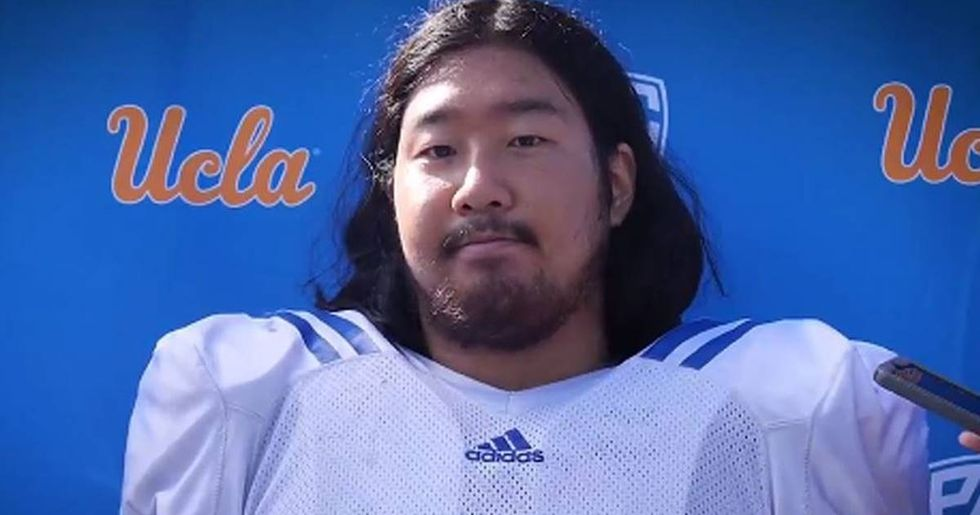 Meet The First Full-Heritage Japanese Person To Play For A Major College Football Team