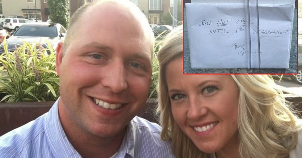 Couple Finally Opens A Mysterious 9-Year-Old Wedding Gift