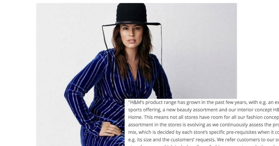 People Furious With Retail Store For Reason Behind Decision To Pull Plus-Sized Clothing