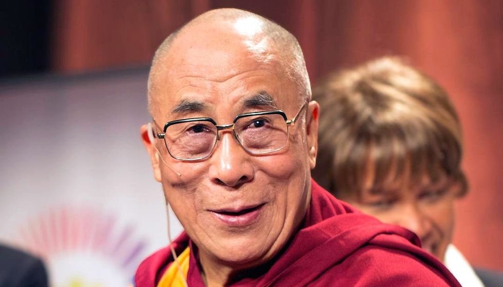 The Dalai Lama S Donald Trump Impression Is Spot On Good