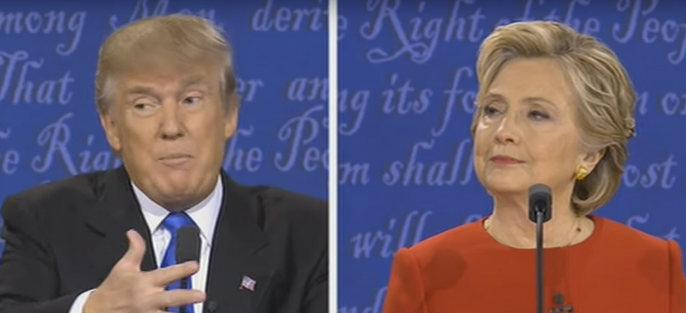 Here's The Tweet Trump Denied Writing That Proves He Lied During The Debate