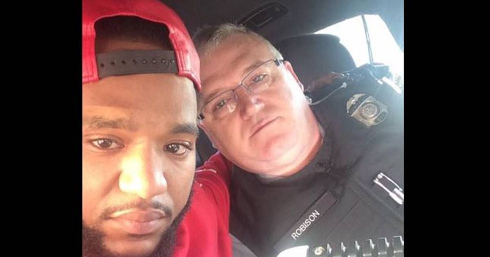 Police Officer Drives Grieving Man 100 Miles To Be With His Family